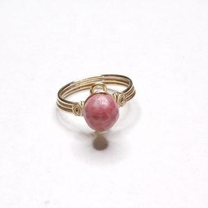 Handmade Pink Ring
